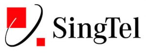 best sim card for singapore - singtel logo